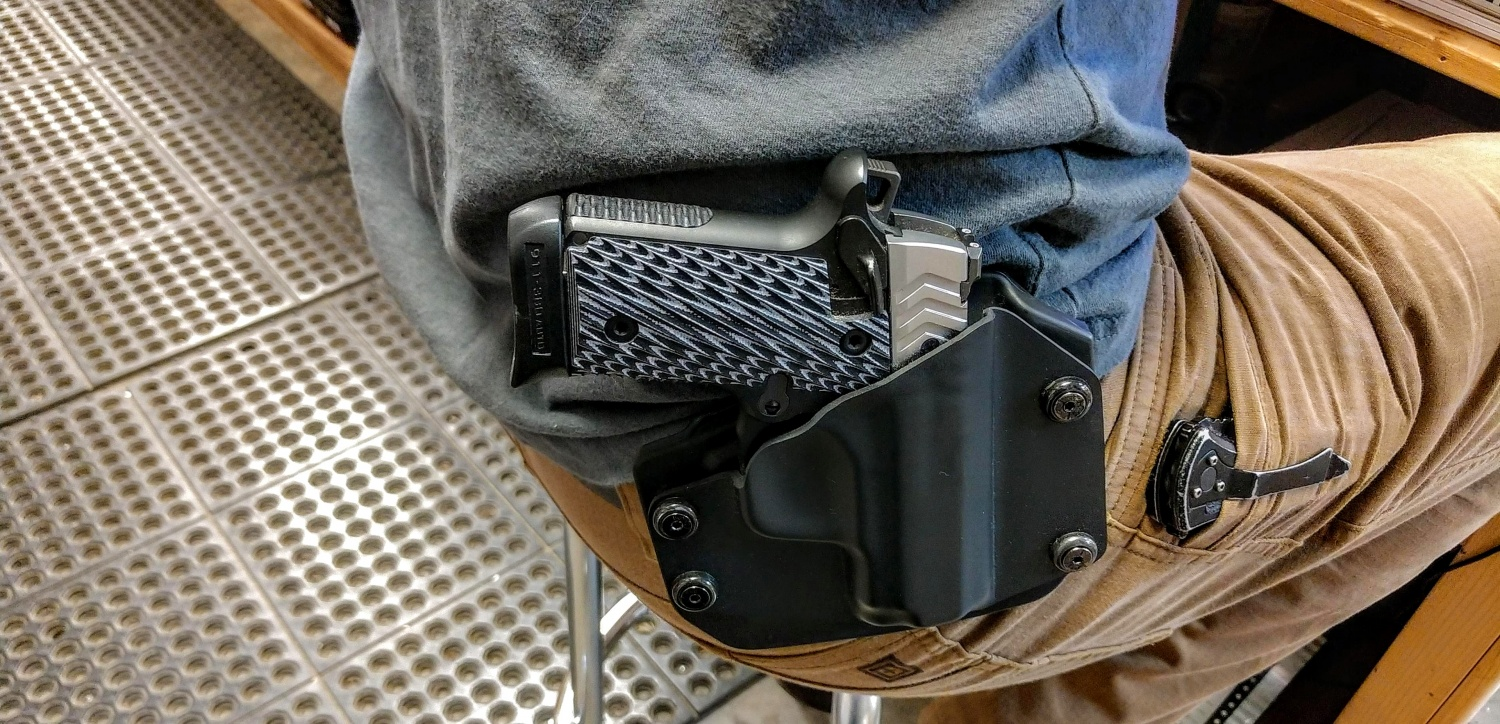 What should you look for in a gun holster?