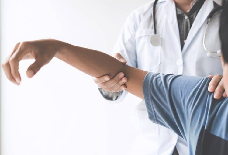 Non-intrusive treatment for joint pain