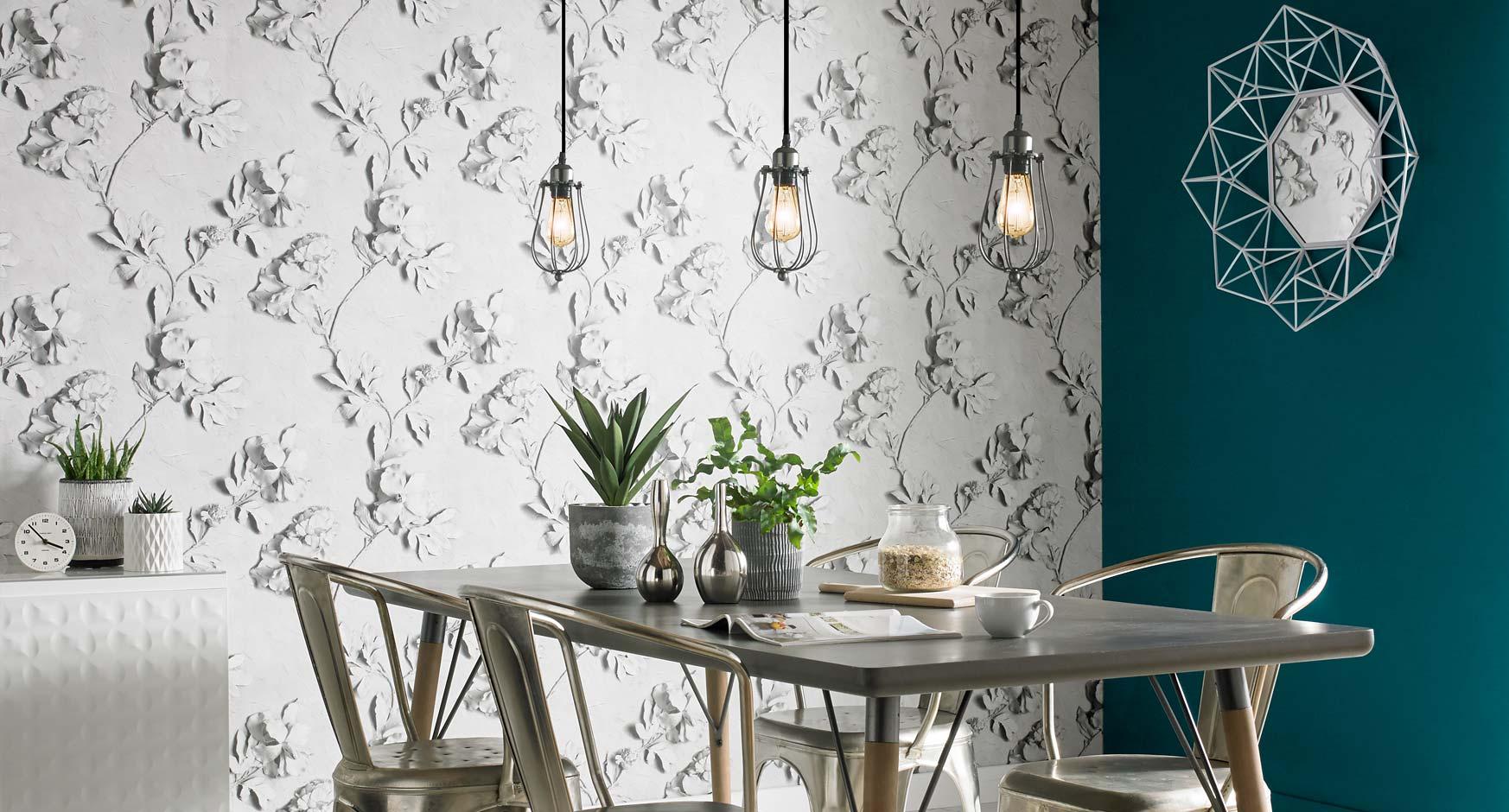 Fiberglass wallpaper is more durable