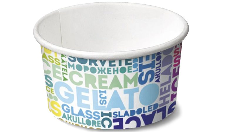 Custom Paper Cups For Your Frozen Desserts